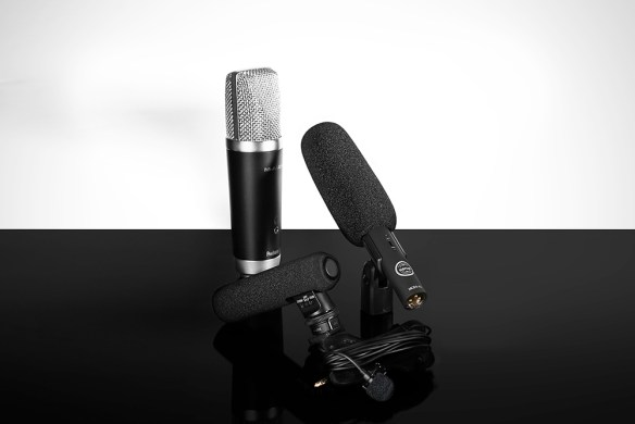 Four microphones