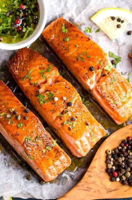 Salmon meal, 5 best foods to help with weight loss - monikaannafit.com