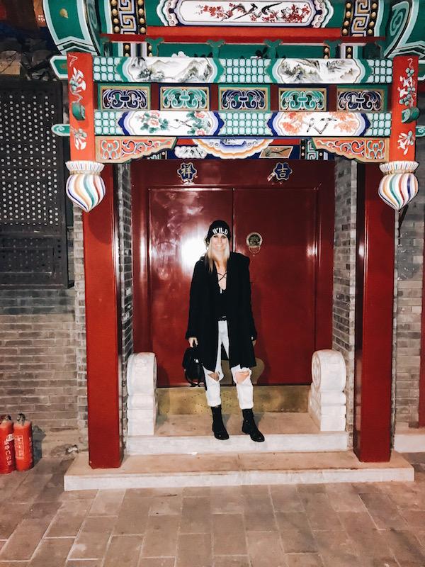 Monika Freeman FOUR NIGHTS IN BEIJING