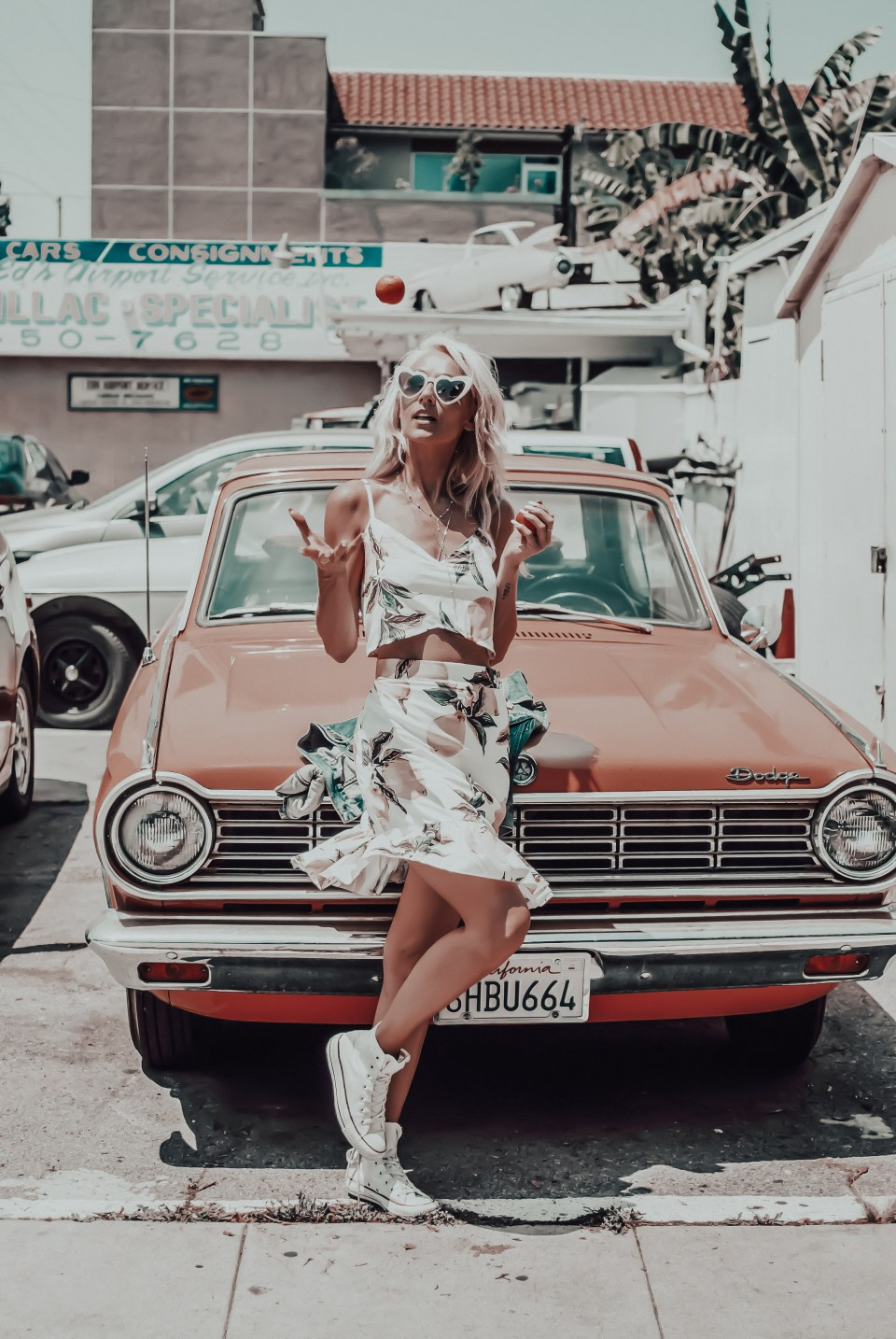 Classic Cars And Babes