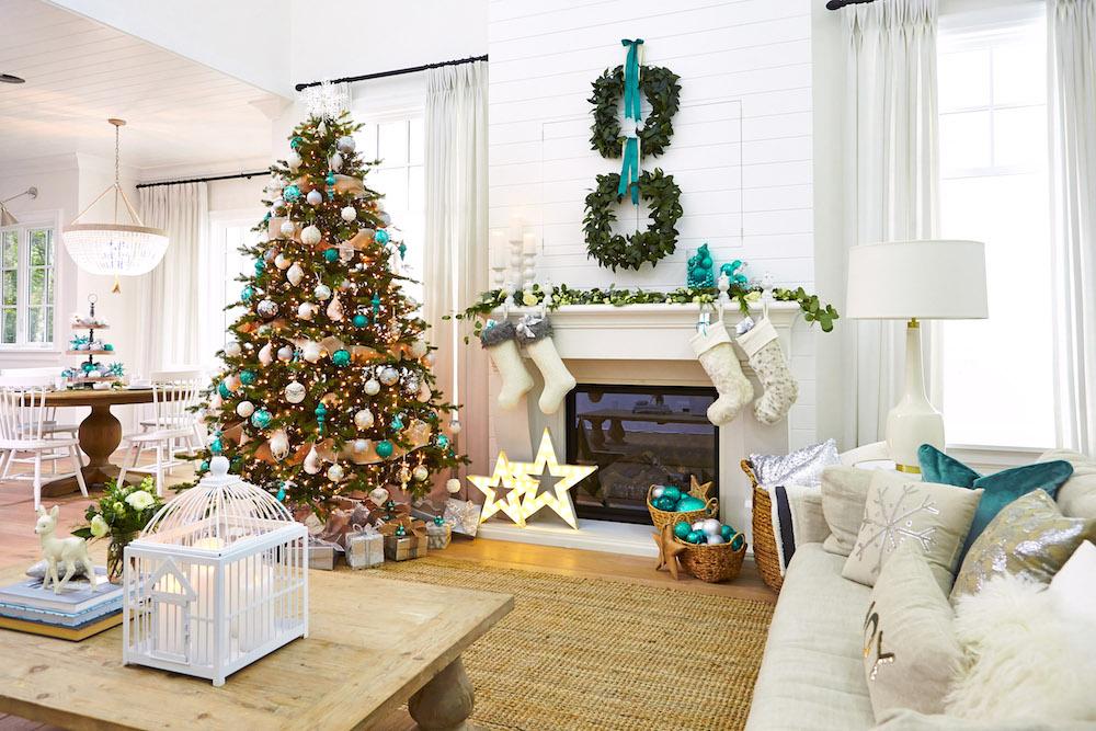 Teal For Christmas Monika Hibbs