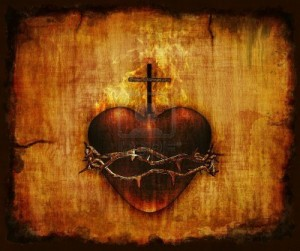 12426488-naja--wia--tsze-serce-jezusa-na-pergaminie--3d-render-i-cyfrowy-obraz