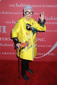 Iris Apfel. Source: vidapress