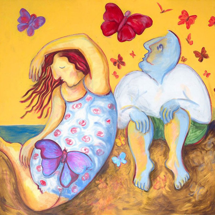 Monika Ruiz Art - Chasing Happiness