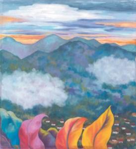 Monika Ruiz Art - Andean Village