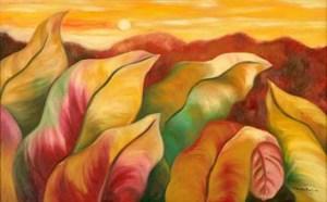 Monika Ruiz Art - Autumn Afternoon
