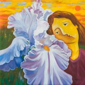 Iris Love by Monika Ruiz
