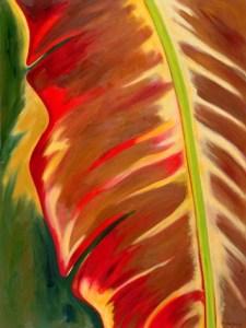 Monika Ruiz Art - Ohcre, Green Vein