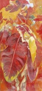 Monika Ruiz Art - Red Jungle