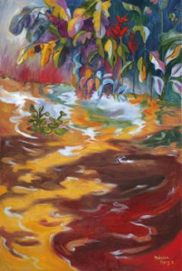 Monika Ruiz Art - Tropical Water