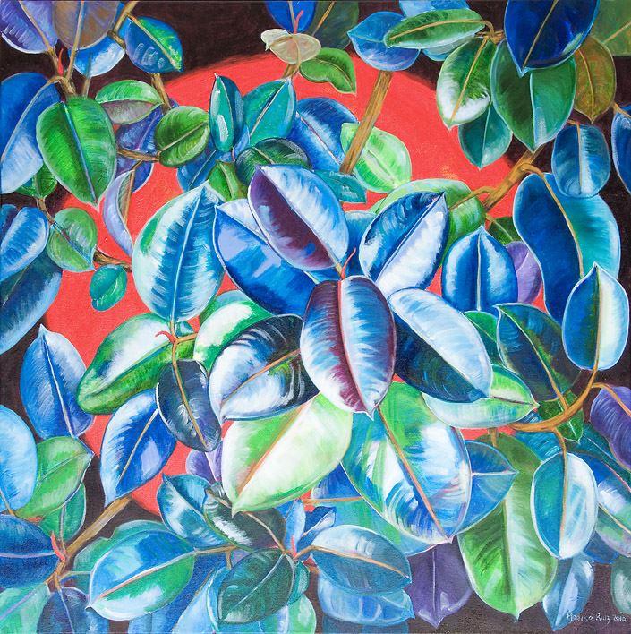 Monika Ruiz Art - Blue Night