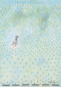 Monika Ruiz Art - Rain