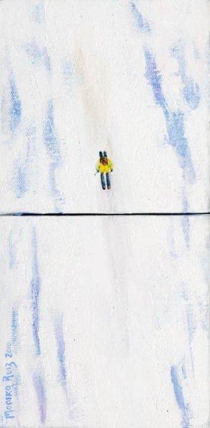 Monika Ruiz Art – Skiing