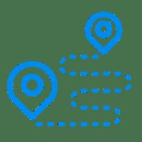 Monimoto sends GPS location coordinates