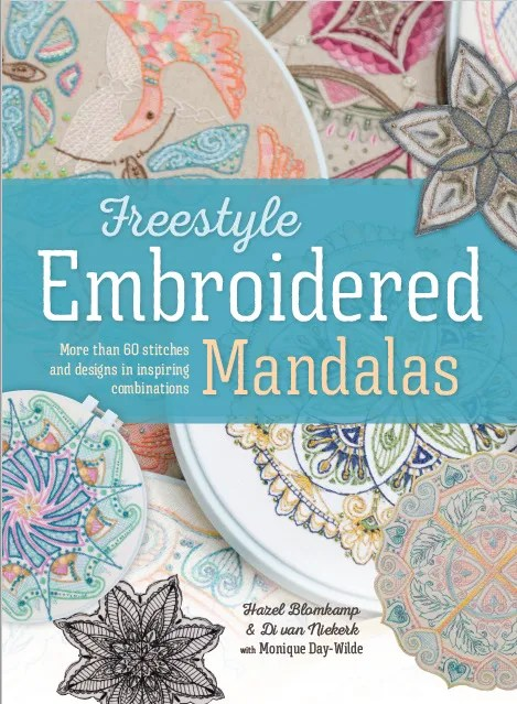book of Hand embroidered Mandalas