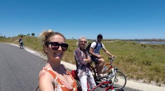 Bike riding around Rottnest Island