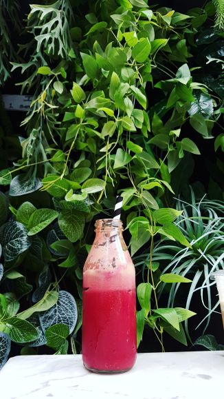 Smoothie Green Wall Sisterfields Bali