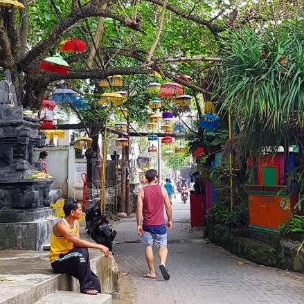 Kuta Bali Lanterns Path