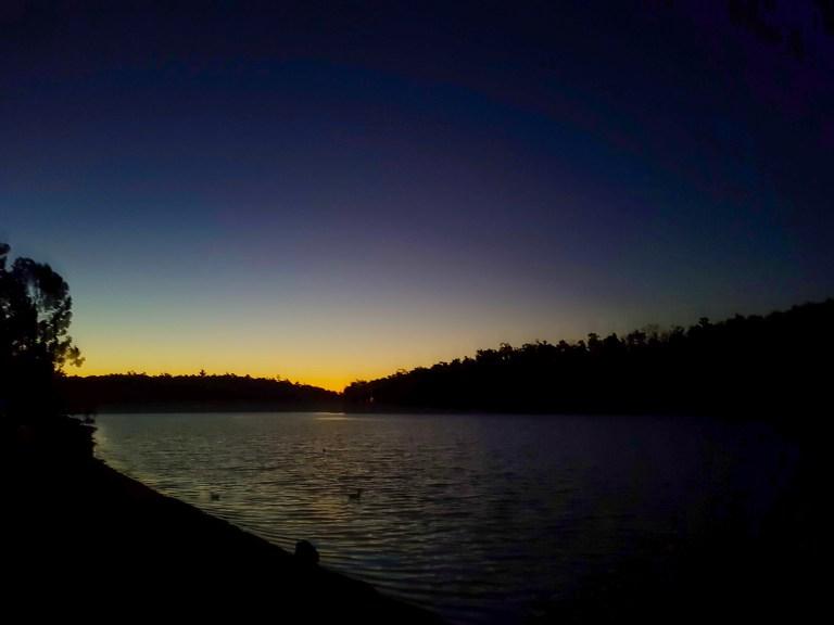 Sunset at Waroona Dam