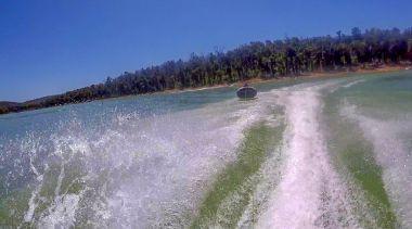 Tubing at Waroona Dam