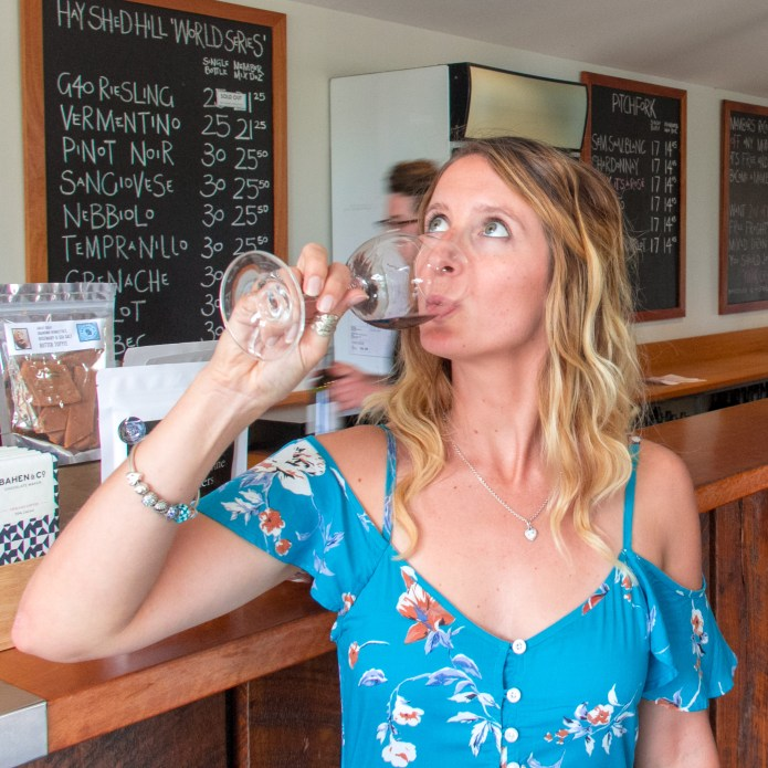 Hay Shed Hill Wine Tasting