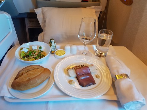 Emirates Business Class Flight 4