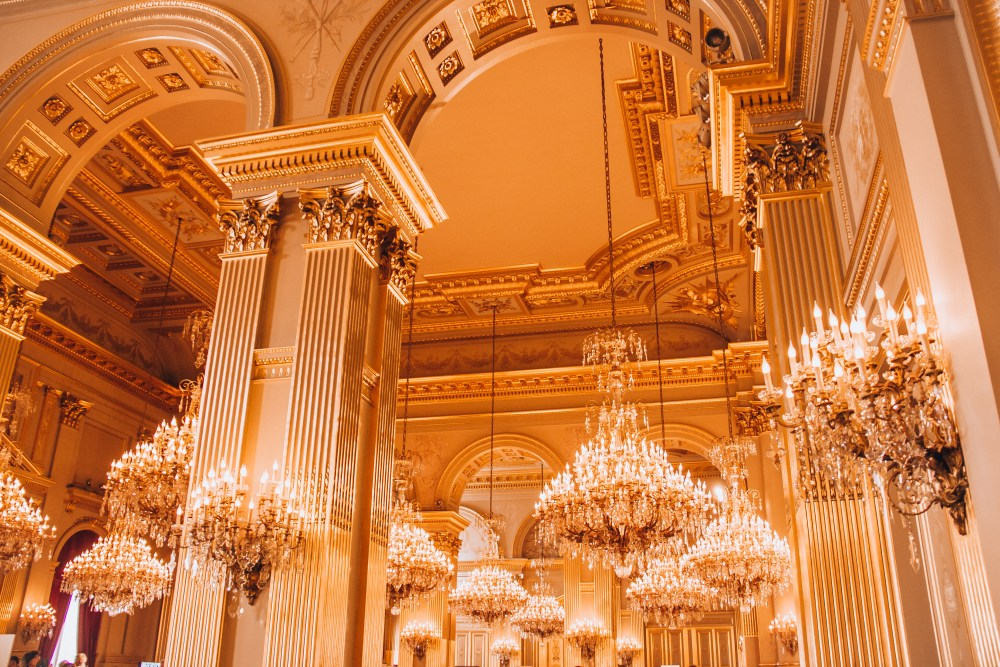Inside the Royal Palace of Brussels
