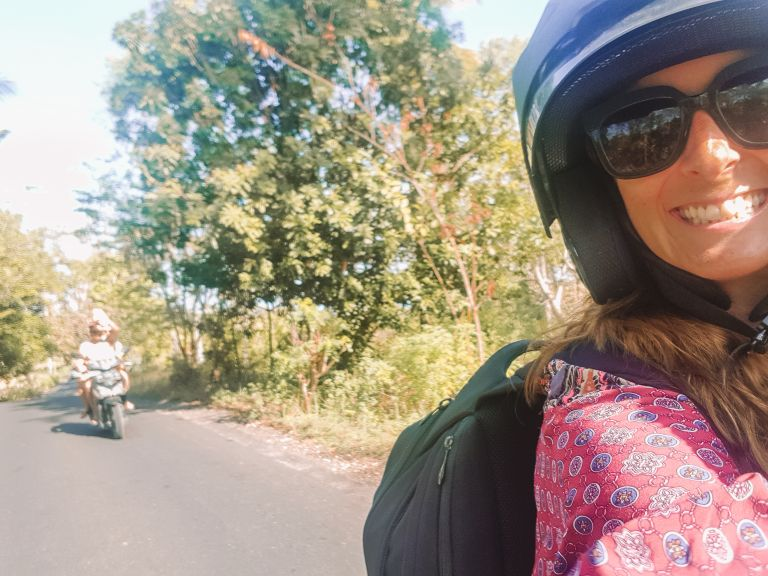 Nusa Penida Roads Scooter