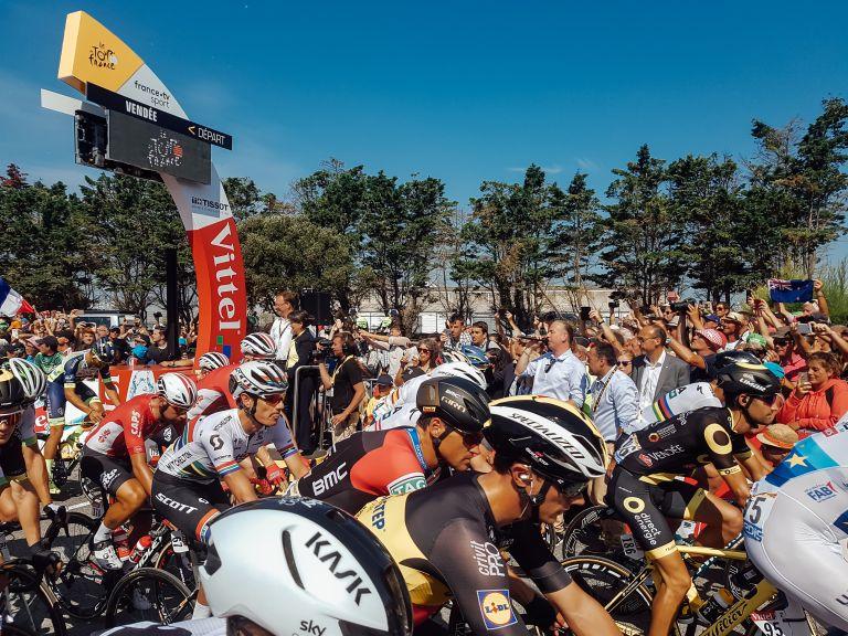 Stage 1 Tour de France Noirmoutier Race Begins