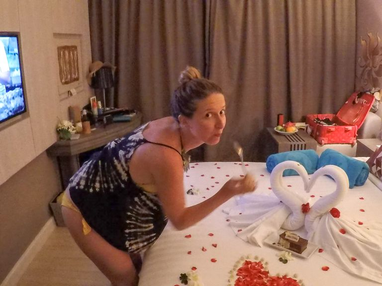 Free birthday cake and flowers Grand Mercure Phuket Patong Thailand Accor