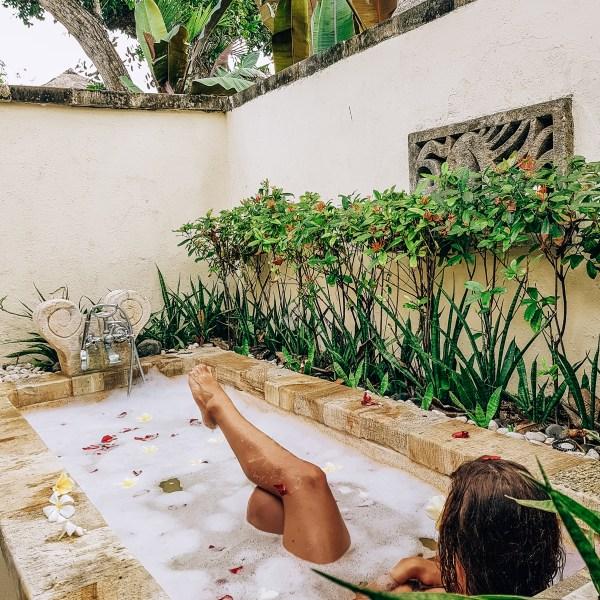 Flower Bath Novotel Benoa Bali Indonesia Accor