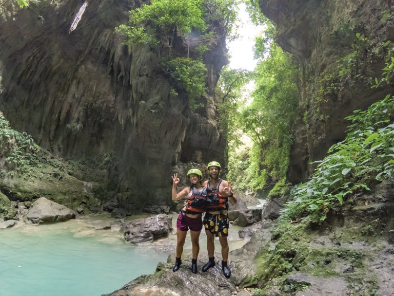 Canyoneering Kawasan Falls Cebu Philippines