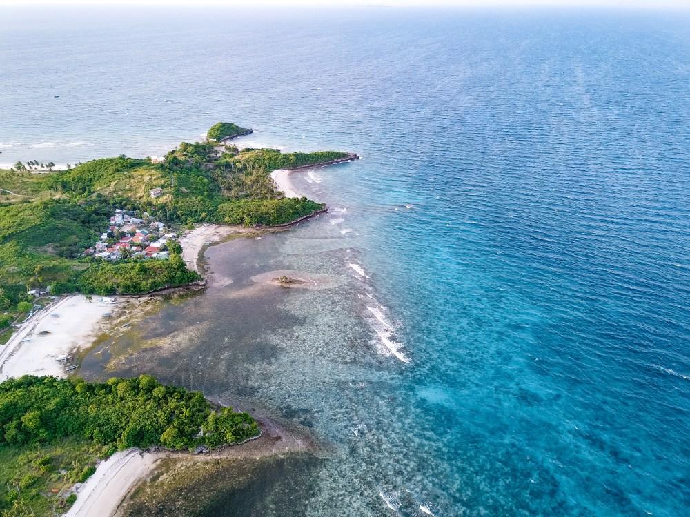 Malapascua Island Cebu Philippines Drone Coast