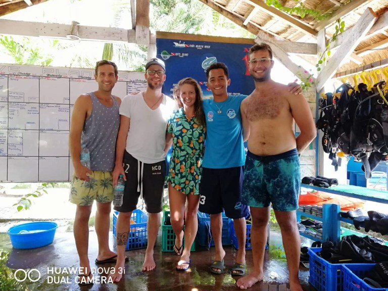 Malapascua Island Cebu Philippines Thresher Cove Nitrox