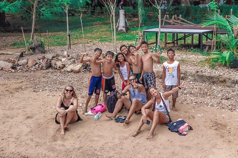 Bali Beach Kids Coron Palwan Philippines