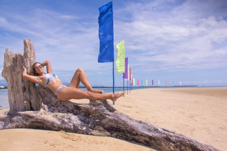 Luli Island Honda Bay Palawan Philippines Beach