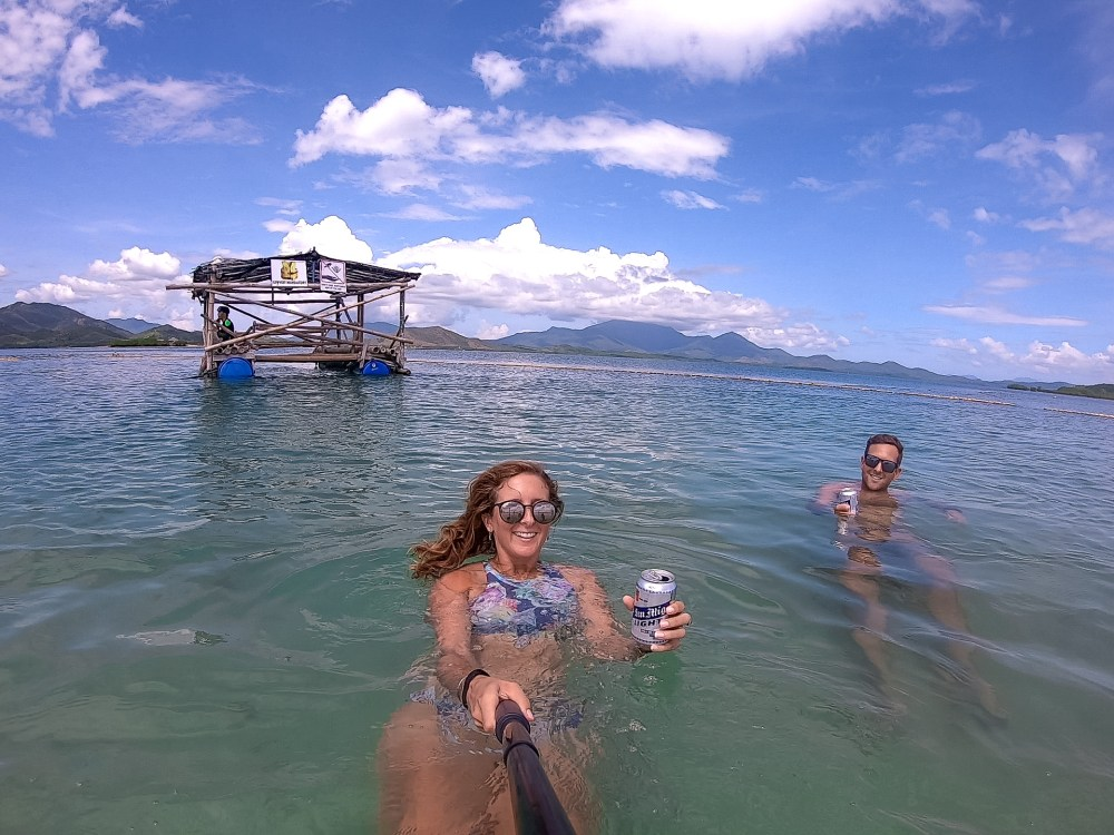 Luli Island Honda Bay Palawan Philippines Couple Goals