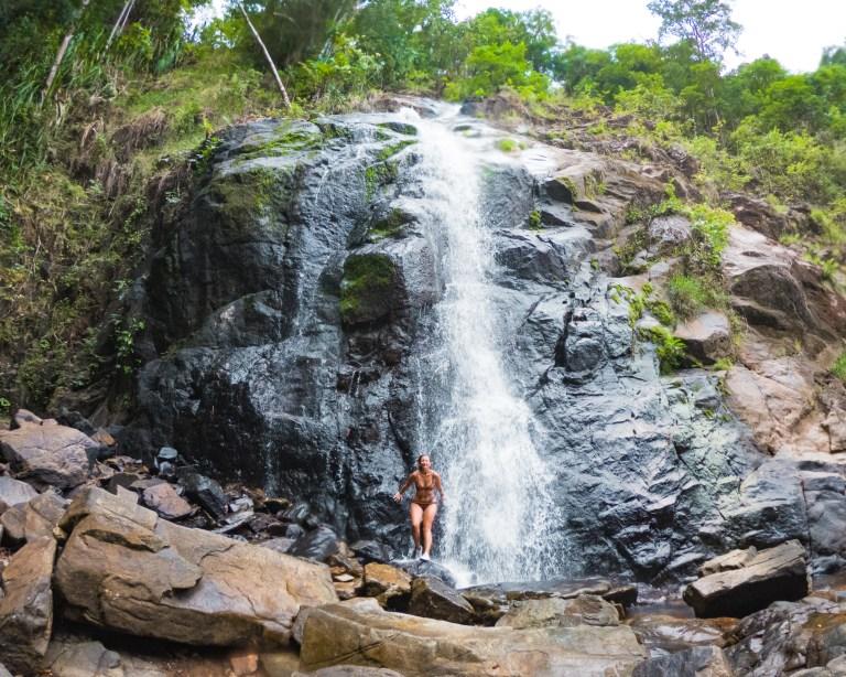 Nagkalit-Kalit Waterfalls Upper El Nido Palawan Philippines