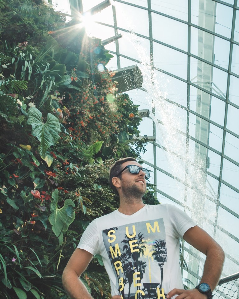Gardens by the Bay Singapore Cloud Garden Greenhouse Poser