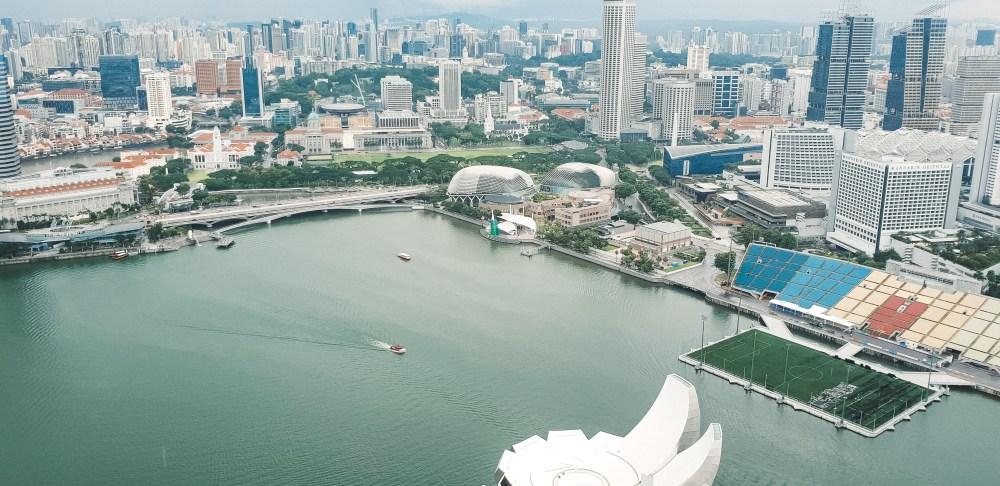 Marina Bay Sands View of Singapore