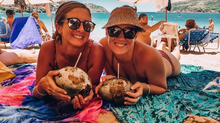 Buzios Coconut Beach Girls Rio de Janeiro Brazil South America