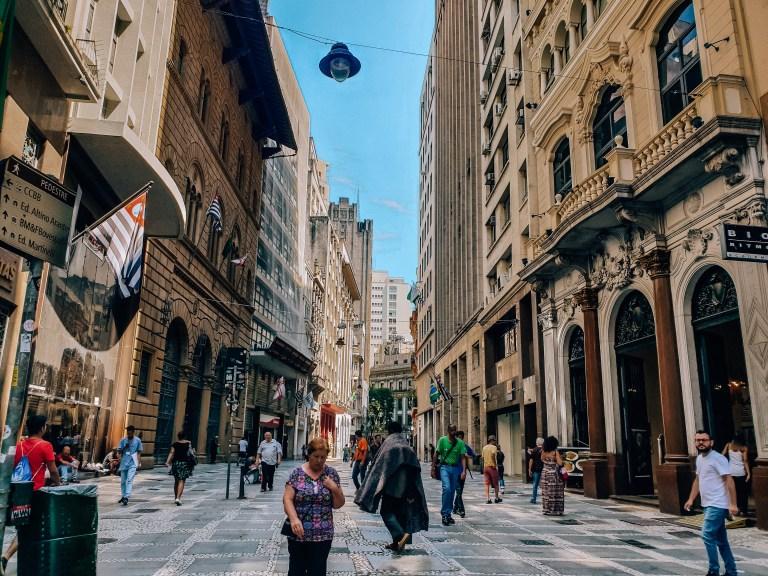 Cultural Centre Sao Paulo Brazil South America