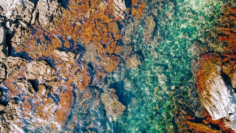 Ilha Grande Rio de Janeiro Brazil Crystal Clear Water