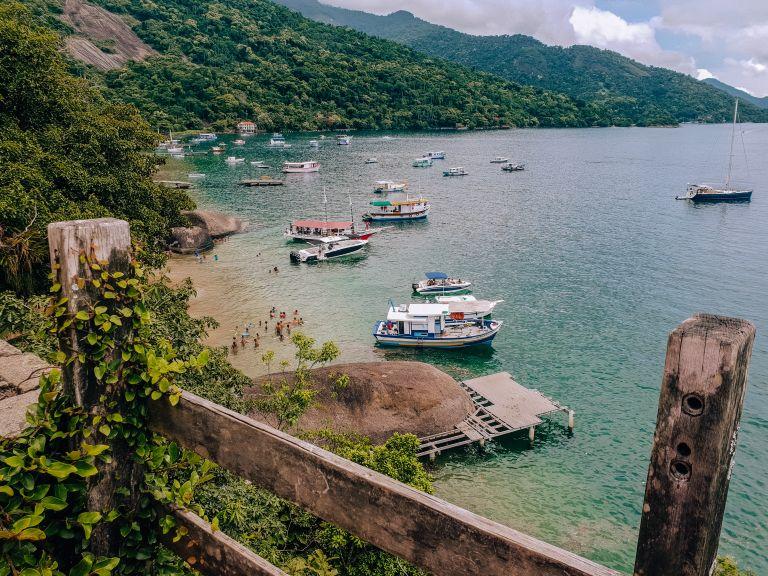 Ilha Grande Rio de Janeiro Brazil Lookout