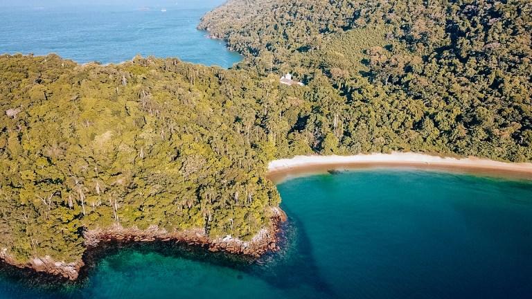 Ilha Grande Rio de Janeiro Brazil Secluded Beach