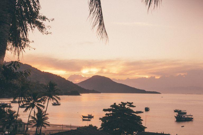 Ilha Grande Rio de Janeiro Brazil Sunset