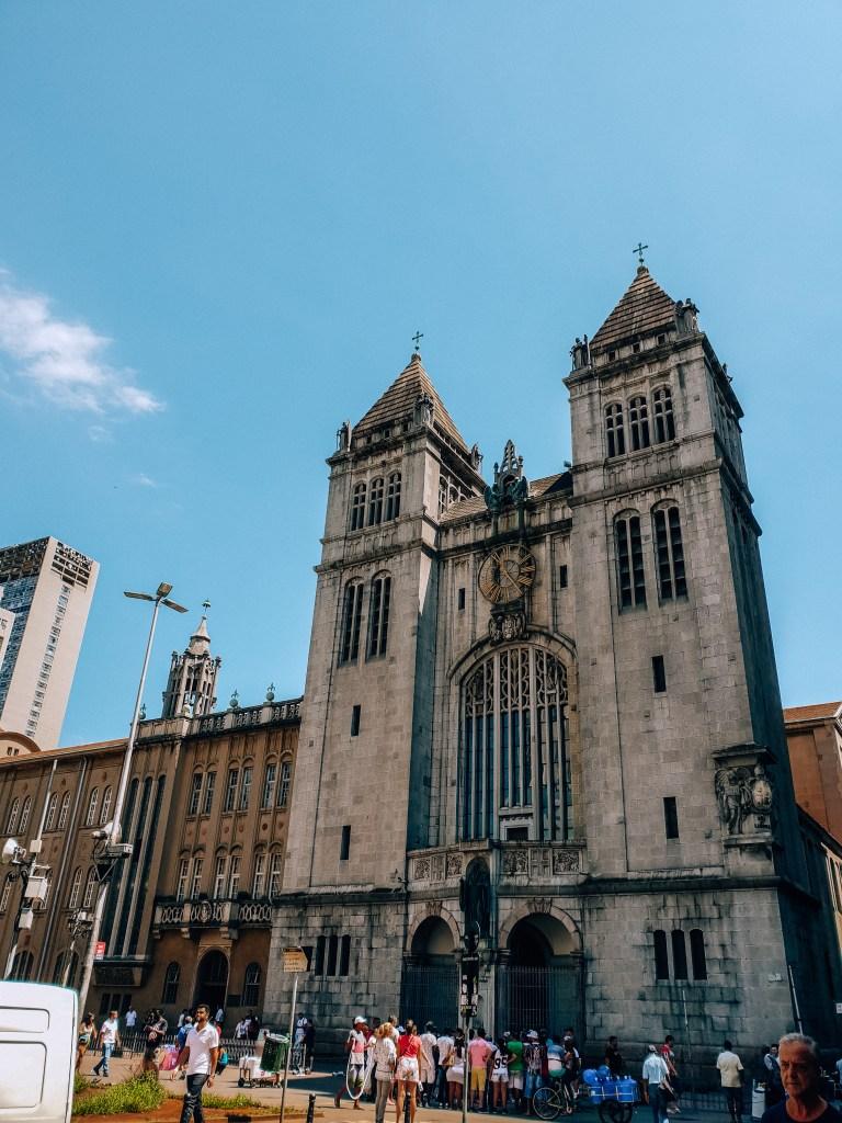 Monastery of São Bento São Paulo Brazil South America