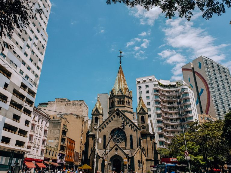 Paróquia Nossa Senhora da Conceição Santa Ifigênia Sao Paulo Brazil South America