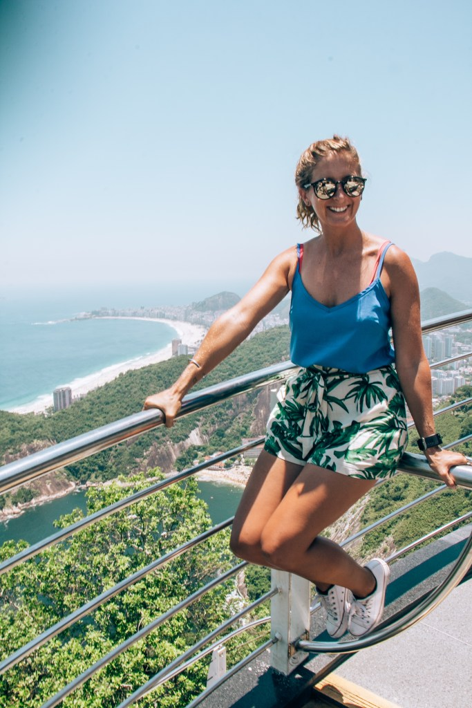 Sugarloaf Mountain Copacabana Rio de Janeiro Brazil South America