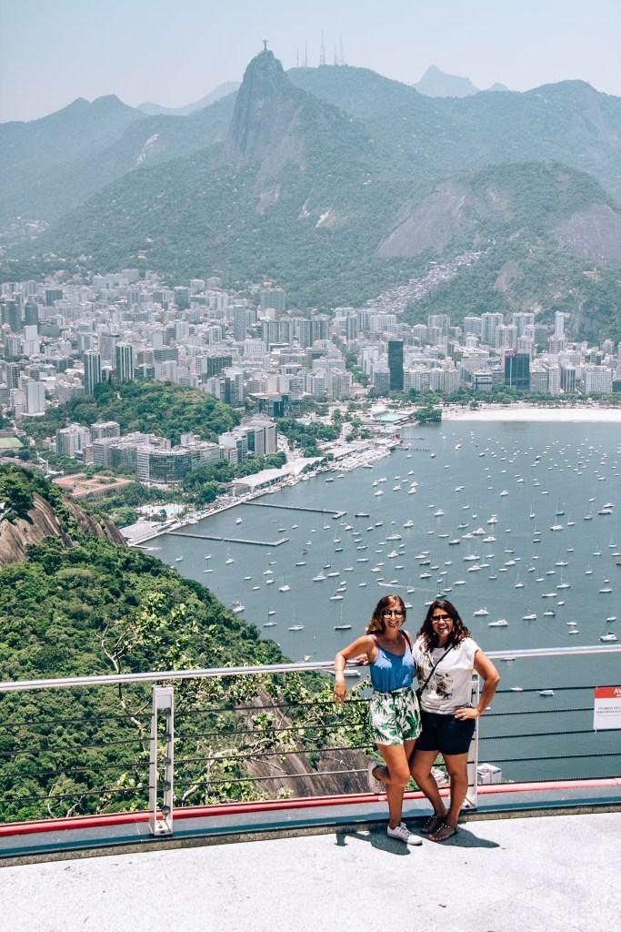 Sugarloaf Mountain Views Rio de Janeiro Brazil South America
